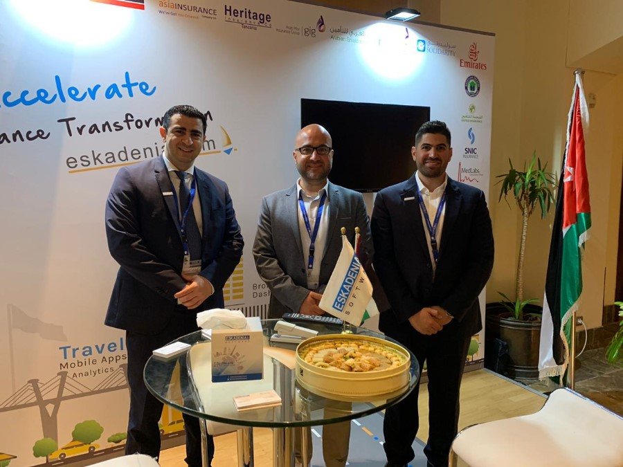 ESKADENIA Software Participates in the 7th International Aqaba Insurance Conference as the Technology Sponsor