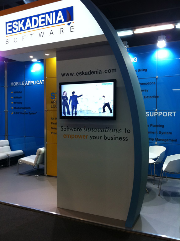 ESKADENIA Software exhibits at Mobile World Congress Barcelona 2012
