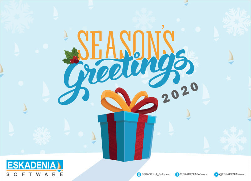 Season`s Greetings from ESKADENIA Software