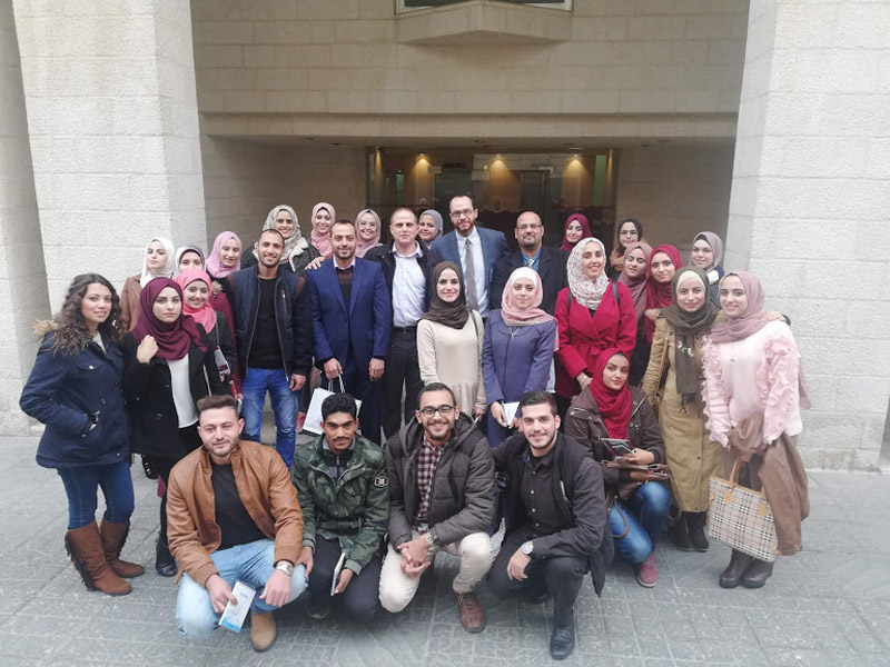 Jordan University of Science & Technology visit to ESKADENIA Software