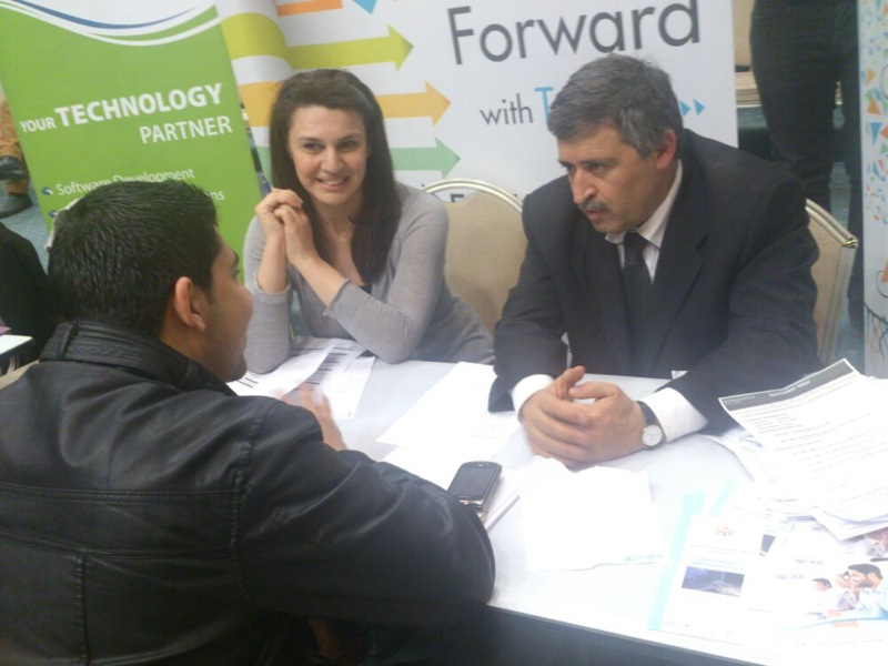 ESKADENIA Software participated successfully at the Jordanian Ministry of Labor National Days for hiring and job interviews