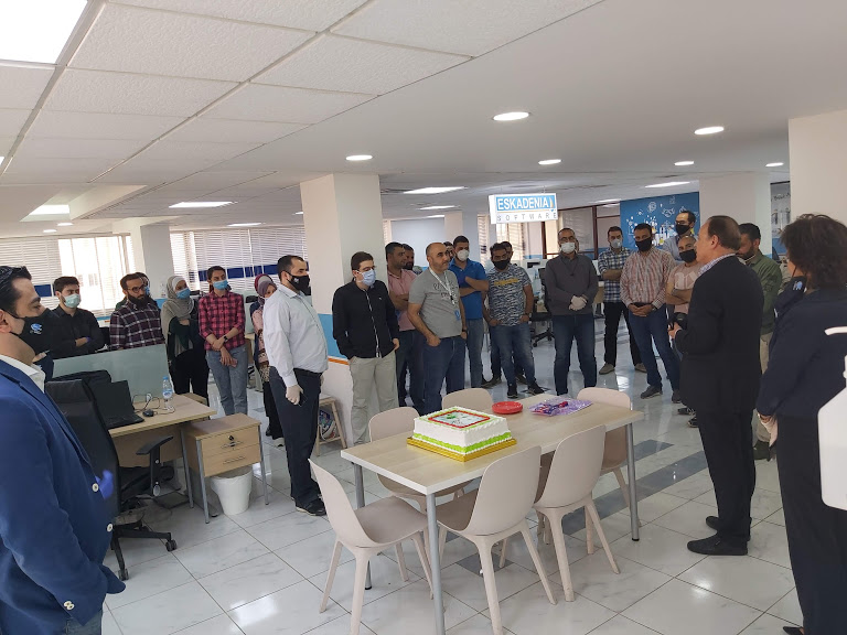 ESKADENIA Software - Roshan Project Celebration