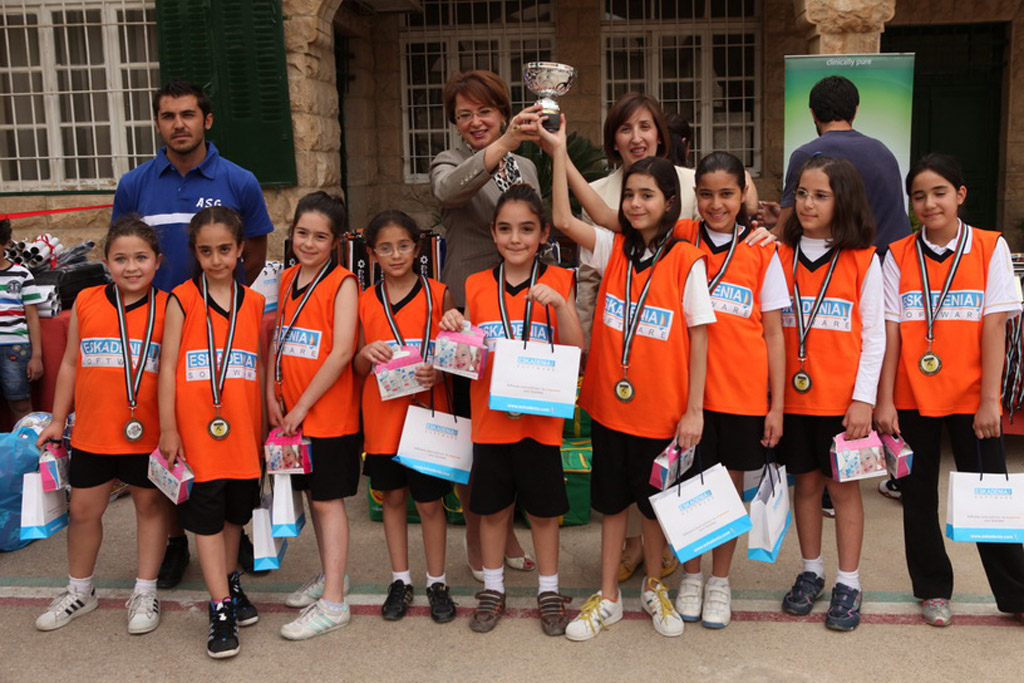 ESKADENIA Software sponsors the Bishop's School & the Ahliyyah School for Girls Basketball Tournaments