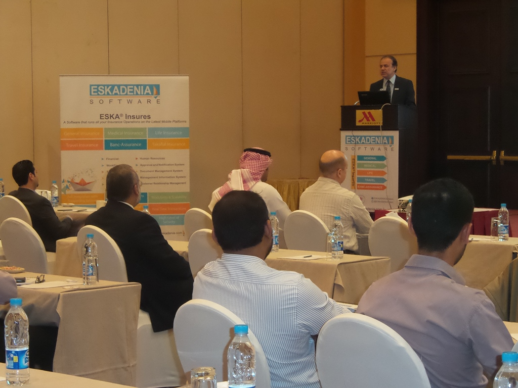 ESKADENIA Software Product Managers Meet with Insurance Key Players in Saudi Arabia