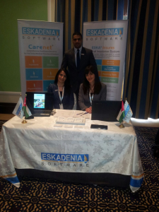 ESKADENIA Software Participates As An Exclusive Technology Partner at Jordan's National Health Insurance Conference -2015